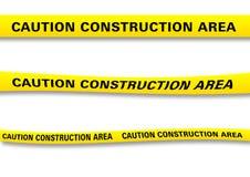 Fita da construção Foto de Stock Royalty Free