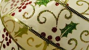 Fita de Holly Christmas Imagens de Stock