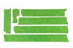 Fita de mascaramento verde Fotos de Stock Royalty Free