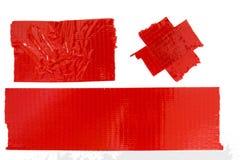 Fita de mascaramento vermelha Foto de Stock