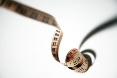 Fita de medição fotografia de stock