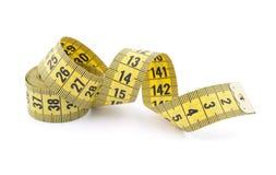 Fita de medição do alfaiate Fotos de Stock