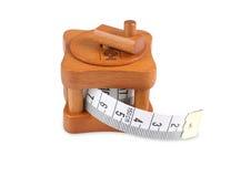 Fita de medição do alfaiate Fotos de Stock Royalty Free