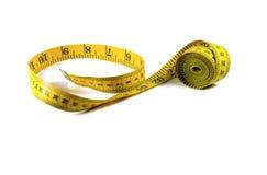 Fita de medição isolada Imagem de Stock Royalty Free