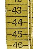 Fita de medição velha Imagens de Stock