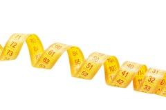 Fita de medição rolada Fotos de Stock