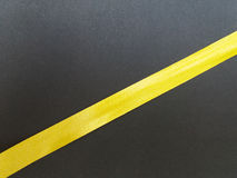 Fita do amarelo Imagem de Stock Royalty Free