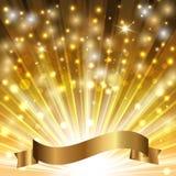 Fita do ouro ilustração do vetor