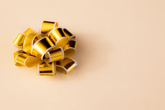 Fita do ouro Fotografia de Stock Royalty Free