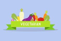 Fita do vegetariano Fotografia de Stock