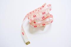 Fita métrica isolada no fundo branco Fotos de Stock