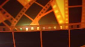 Fita Rolls do filme de Hollywood ilustração royalty free