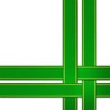 Fita verde Imagem de Stock Royalty Free