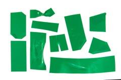 Fita verde Imagem de Stock