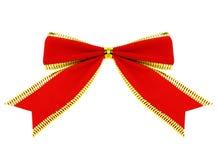 Fita vermelha com trajeto de grampeamento foto de stock royalty free