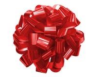 Fita vermelha para presentes Imagens de Stock Royalty Free