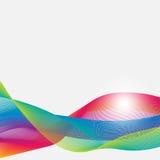 Fitas abstratas, coloridas, pairosas em um fundo branco Tirado pelo lápis Ilustração ilustração do vetor