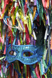 Fitas brasileiras do desejo da máscara do carnaval imagens de stock royalty free