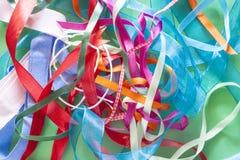 Fitas coloridas Imagem de Stock Royalty Free