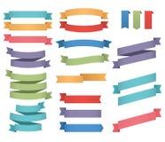 Fitas coloridas ajustadas Foto de Stock