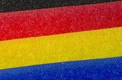 fitas coloridas de velcro Fotografia de Stock