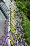 Fitas coloridos e festão Fotografia de Stock
