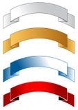 Fitas da bandeira Foto de Stock Royalty Free