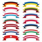 Fitas dos países Imagens de Stock Royalty Free