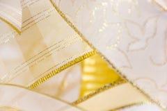 Fitas douradas Fotografia de Stock