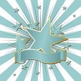 Fitas e estrelas Imagem de Stock