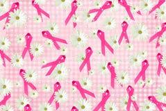 Fitas e margaridas cor-de-rosa Fotografia de Stock Royalty Free