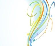 Fitas festivas coloridas Imagens de Stock Royalty Free