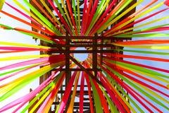 fitas Multi-coloridas Fotografia de Stock