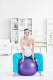 Fitball Royalty Free Stock Image