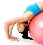 Fitball Stretch Stock Photos