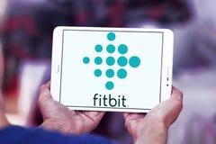 Fitbit-Firmenlogo Stockfotos