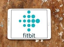 Fitbit-Firmenlogo Stockbild