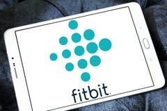 Fitbit firmy logo Zdjęcia Royalty Free
