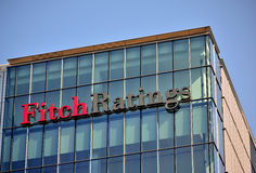 Fitch Ratings London Imagem de Stock Royalty Free