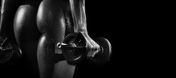 Fitnes-Schönheit Lizenzfreies Stockbild