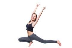 Fitnes woman exercising Royalty Free Stock Photo