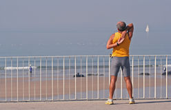 Fitness 1. Fitness beach 1 Royalty Free Stock Images
