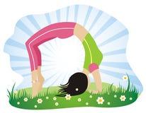 Fitness stock illustration