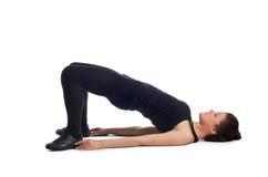 Fitness. Abdominal training Royalty Free Stock Photos