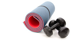 Fitness accessories Stock Photos