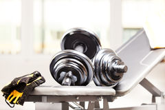 Fitness accessories Royalty Free Stock Image