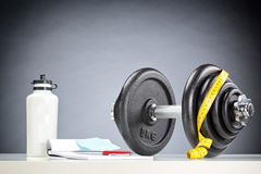 Fitness Accessories stock image