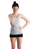 Fitness achievement. Royalty Free Stock Photo