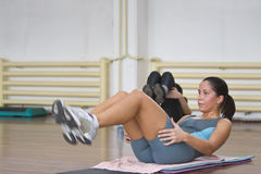 Fitness action Stock Images