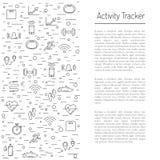 Fitness activity tracker  19 Royalty Free Stock Photography